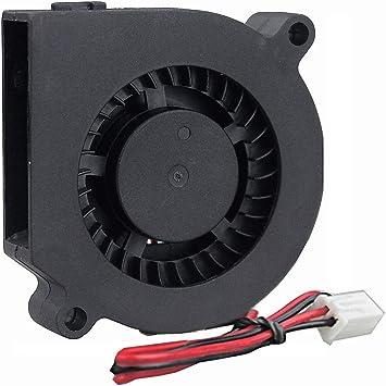 Silent DC 24V 5015 Cooling Blower Fan Brushless Cooler for 3D Printer X3