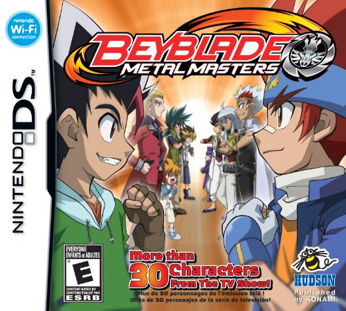 Beyblade Metal Masters Nintendo DS product image