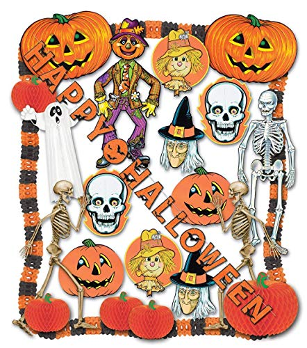 - Halloween Decorating Kit - 24 Pcs Party Accessory (1 count)