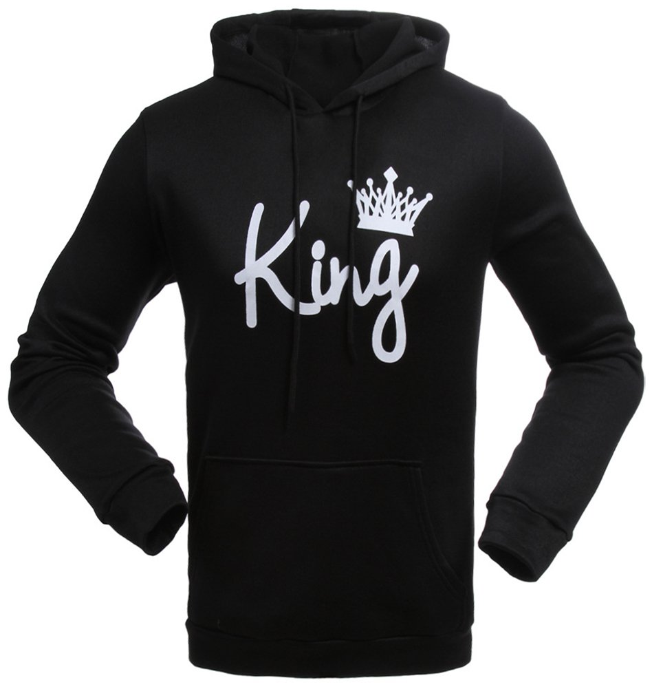 Meowstyle D-Sun King & Queen - Matching Couple Hoodies & Pocketed Sweatpants