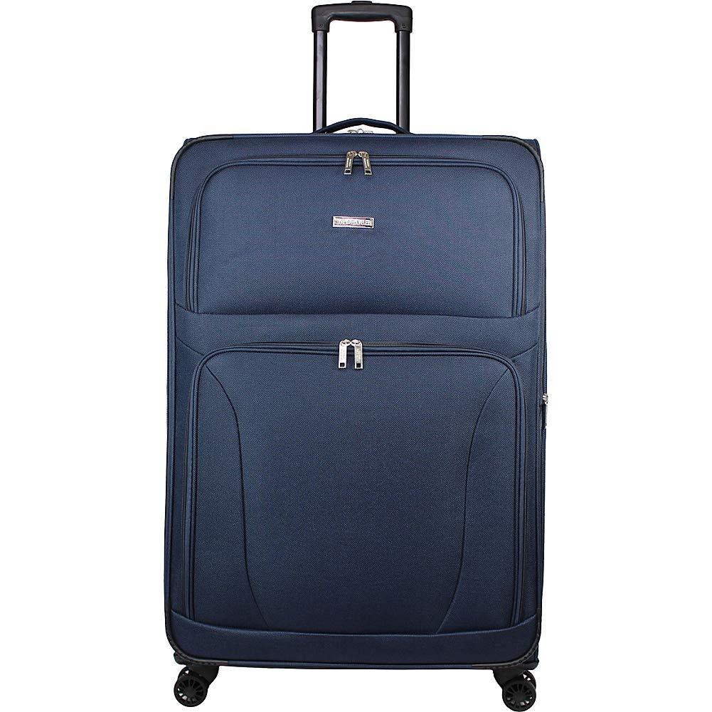 World Traveler スーツケース B07G1SDVK4 ネイビー