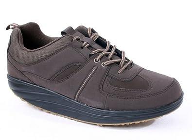 Damen Aktiv Outdoor Schuhe mit Rundsohle Fitnessschuhe Sneaker Gesundheitsschuhe Aktivschuhe Gondelschuhe Freizeitschuhe beige Gr. 39 QT2Ksqi