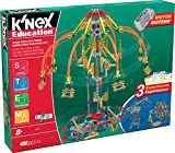 Watch kids turn your living space into an amusement park with the K'NEX Education STEM Explorations Swing Ride Building Set.  Children can build a working swing ride with this educational building set. Each package contains 470 brightly colored piece...