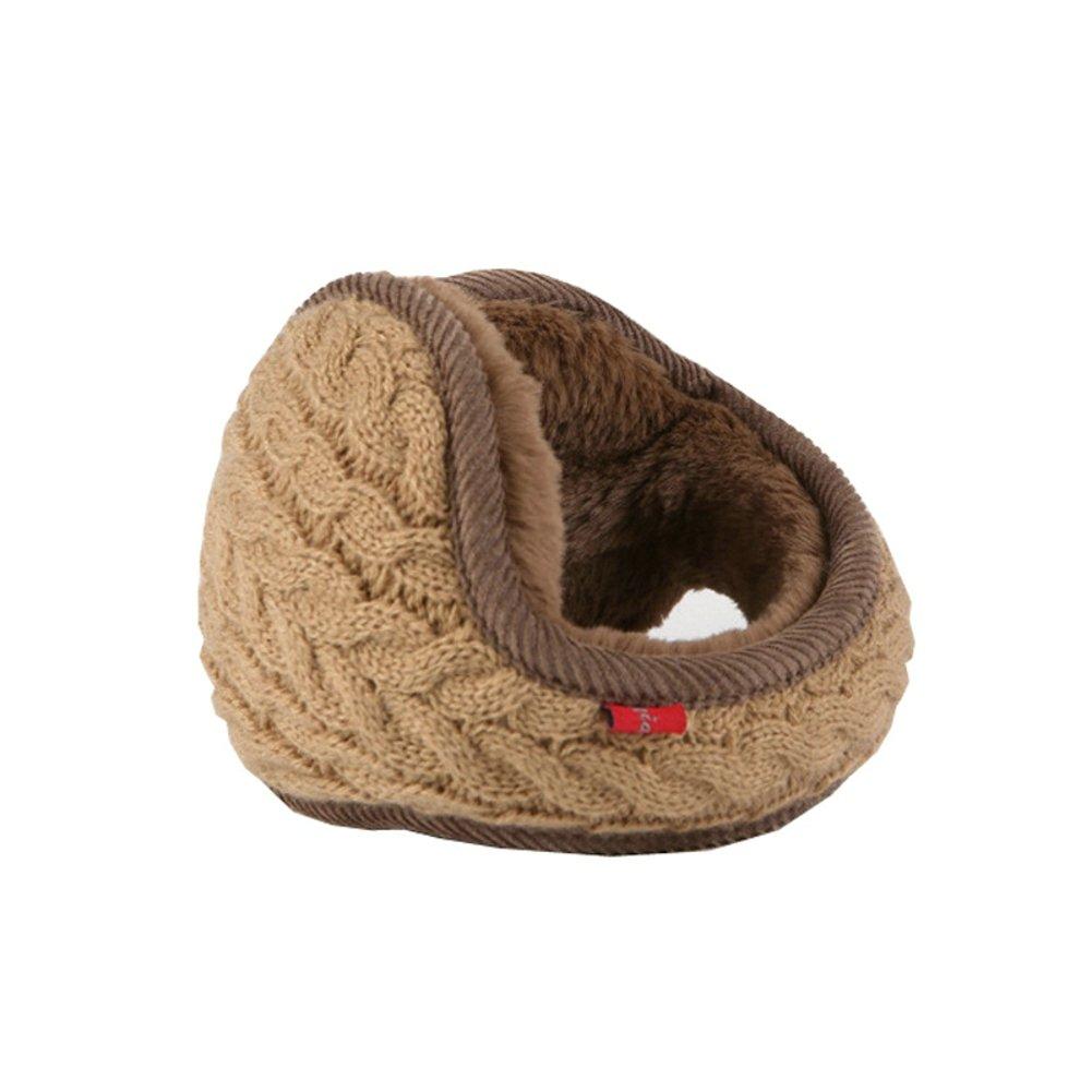 Men Women Winter Knitted Foldable EarMuffs Warm Unisex Warmers by Elfjoy 1688 AY1244
