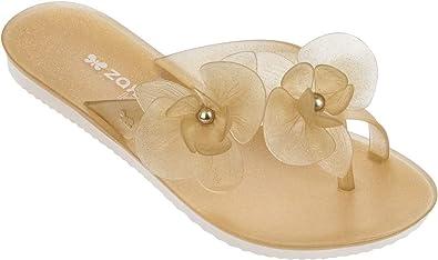 62a0fc9c8f53da Zaxy Womens Ice II Thong Fem Synthetic Thong Sandals  Amazon.co.uk  Shoes    Bags