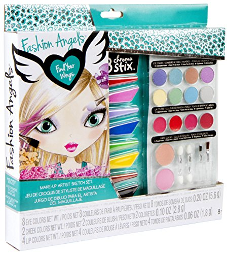 Fashion Angels Make-Up Artist Studio-Box Set Angels Toy Box