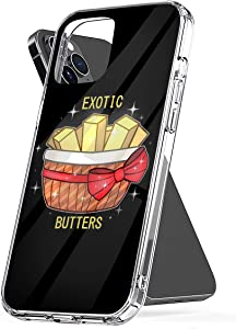 Phone Case FNAF Exotic Butters Compatible with iPhone 6 6s 7 8 X XS XR 11 Pro Max SE 2020 Samsung Galaxy Drop Scratch