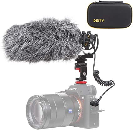 Deity V-Mic D3 Pro High SNR Super-Cardioid Directional Shotgun Microphone with Rycote Shockmount for DSLRs Handy Recorders Wind Shield Smartphones Camcorders Tablets Laptop,Bodypack Transmitters