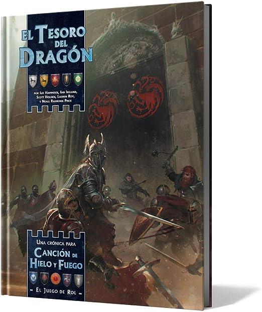 Edge Entertainment- Canción de Hielo y Fuego: el Tesoro del Dragon - español, Color (EEGRSI06): Amazon.es: Juguetes y juegos