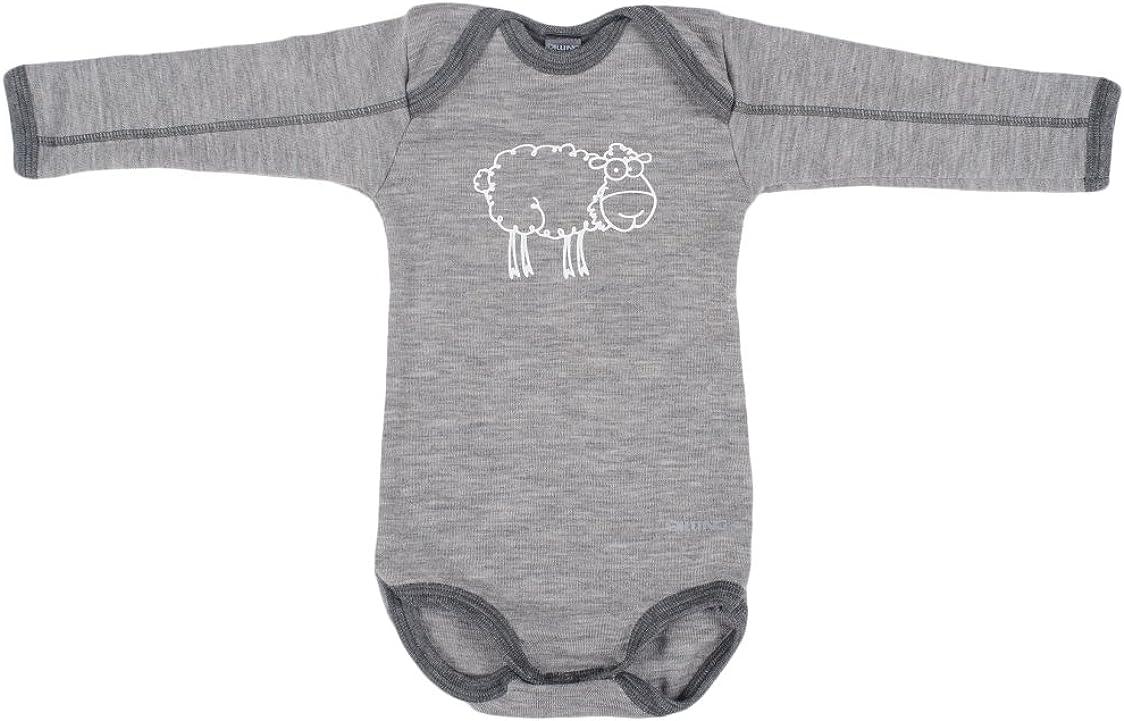 Dilling Body ohne /Ärmel f/ür Babys aus 100/% Bio-Merinowolle