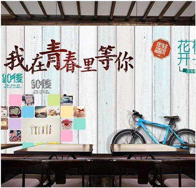 Murals Wallpaper,Arte Hermoso De La Bicicleta Del Estudiante ...