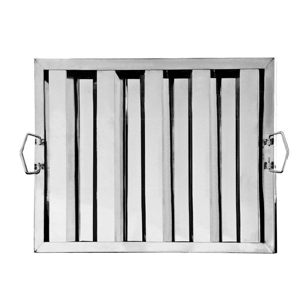 New Star Foodservice 54354 Stainless Steel Hood Filter, 20'' x 16'' by New Star Foodservice (Image #1)