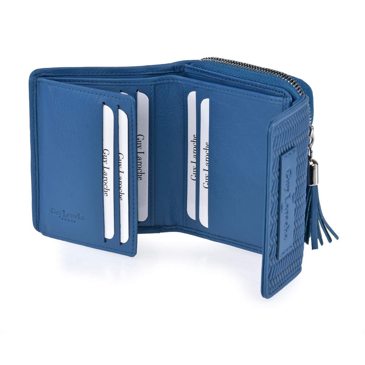 Monedero Billetero Pequeño Mujer Guy Laroche 7207 (Azul ...