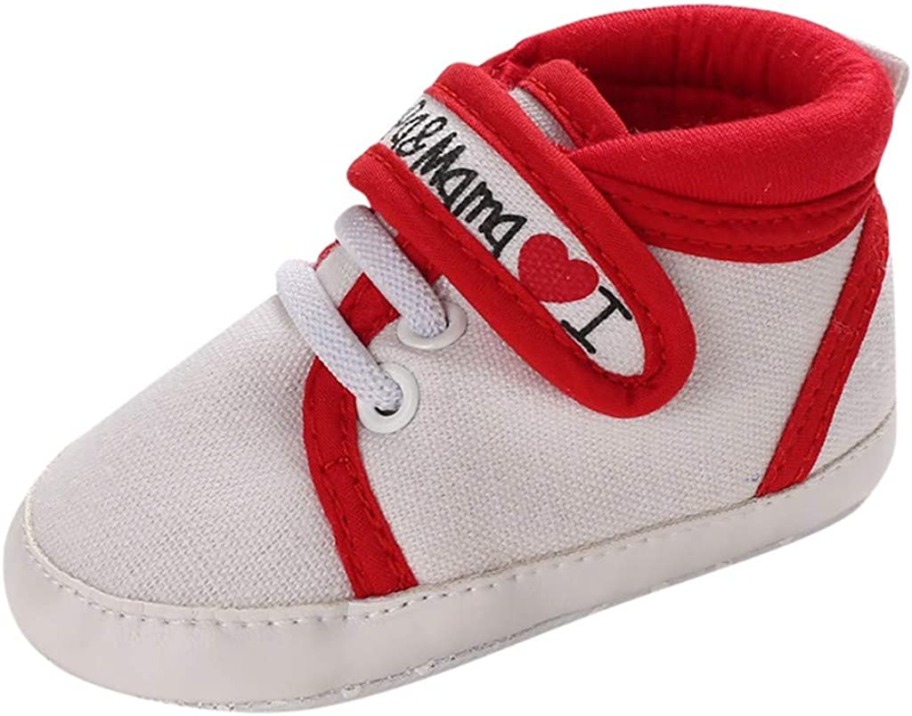 First Step Rubber Soles Pre Walking Trainers Infant Baby Boy Girl Pram Shoes
