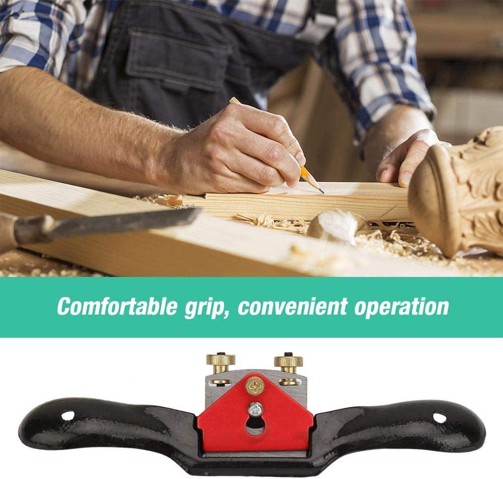 Woodworking Steel Adjustment 10 Inch Plane Spokeshave for planing Round Curved planing Hand Planer Plane Spokeshave