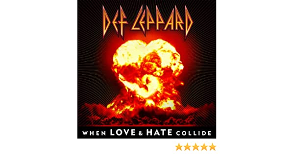 Def leppard when love and hate collide (karaoke version with.