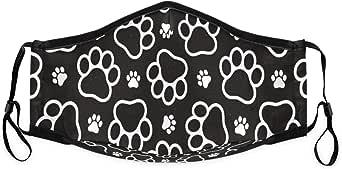 Amazon.com: Cute Dog Pawprint Mouth Mask Reusable Face