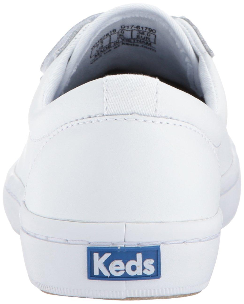 Keds Women's B01N9TJPE0 Tiebreak Leather Fashion Sneaker B01N9TJPE0 Women's 11 B(M) US|White d49fe2