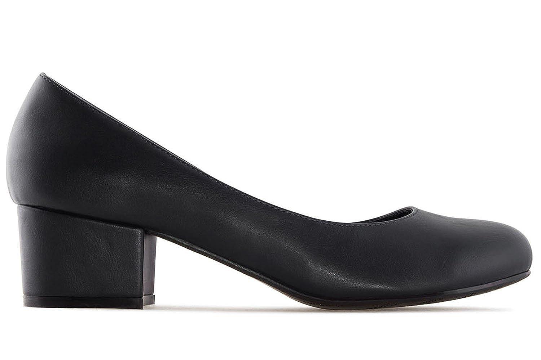 Andres Machado Pumps in in in Übergrößen Schwarz AM5210 Soft schwarz große Damenschuhe 90ea5f