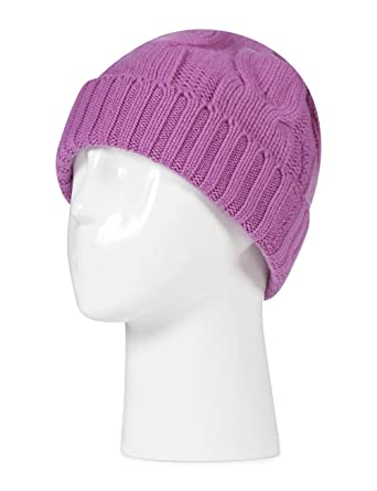 Great   British Knitwear Ladies ZT001 100% Cashmere Cable Knit Hat. Made in  Scotland-Anemone-One Size at Amazon Women s Clothing store  0509c3b5e0f6