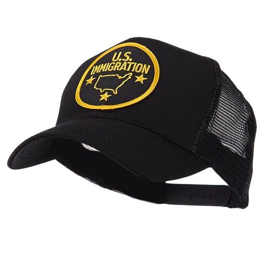 Law Enforcement Patched Mesh Cap - Immigration OSFM at Amazon Men s ... e2b2a01f8539