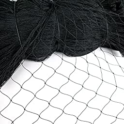 Zeny® 25\' X 50\' Net Netting for Bird Poultry Aviary Game Pens (25\' X 50\')