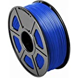 CC DIY - PLA 3.00mm 3D Printer Filament 1kg Spool Dimensional Accuracy +/- 0.02 mm (Blue)