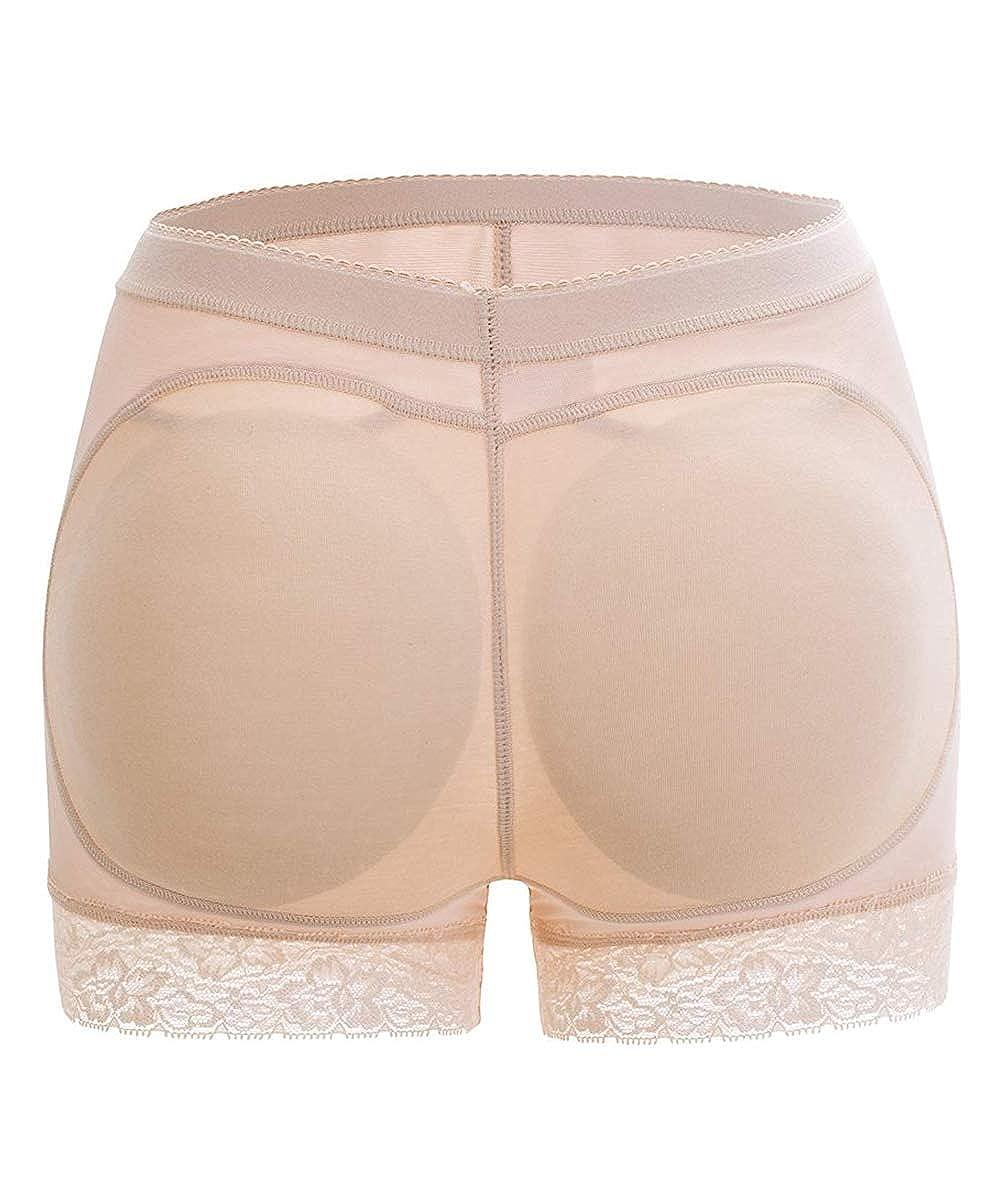 FUT Womens Butt Lifter Hip Enhancer Pads Underwear Shapewear Lace Padded Control Panties Shaper