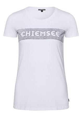 3cddb29189c98 Chiemsee Mujer Logo Frontal Impresión - Camiseta  Amazon.es  Deportes y  aire libre