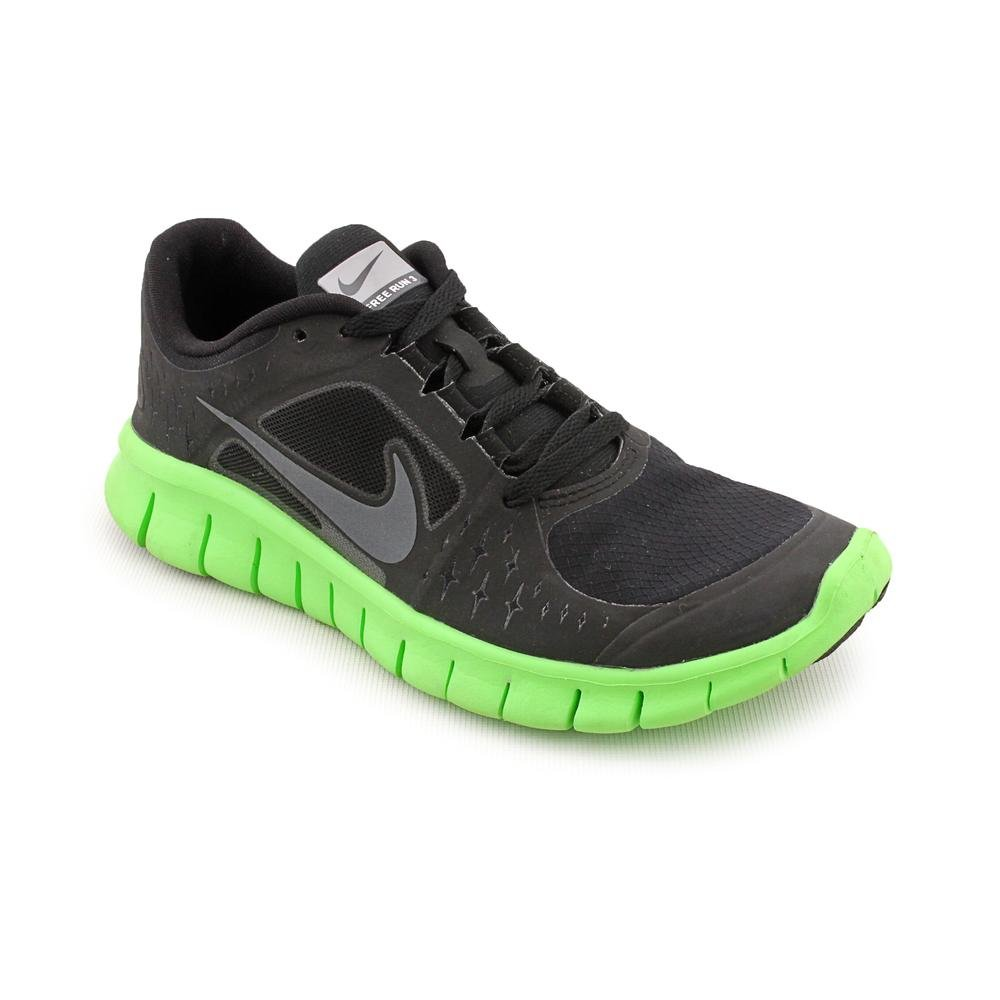brand new 1243f 4dfa1 Amazon.com   Nike Junior Free Run V3 Running Shoes - 4.5 - Black   Running