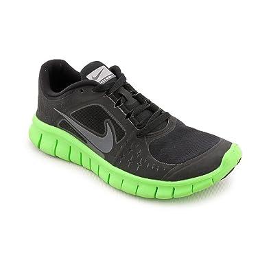 3e82f1aa2aac7 Nike Junior Free Run V3 Running Shoes - 4.5 - Black