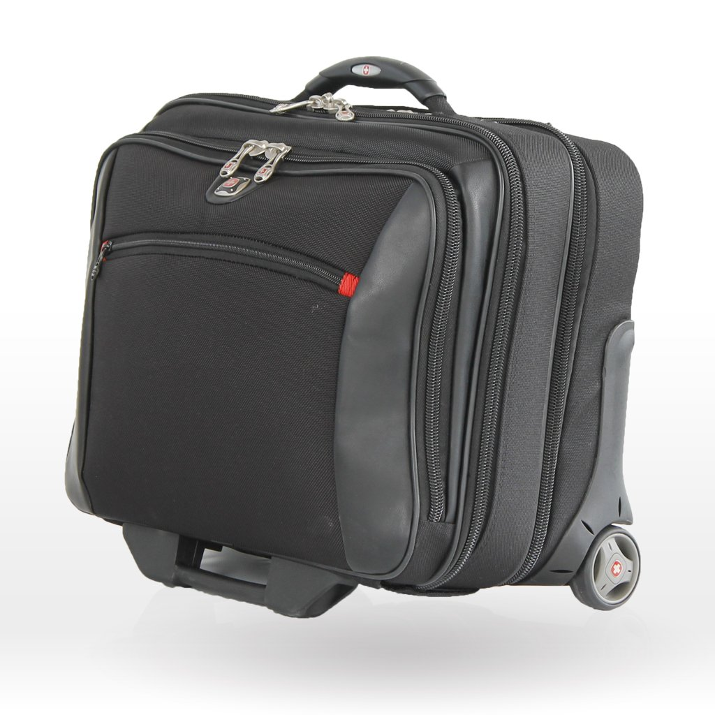 POTOMAC from SwissGear by Wenger Computer Double Gusset Rolling Case by Wenger
