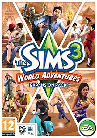 The Sims 3: World Adventures - Expansion Pack (PC/Mac DVD
