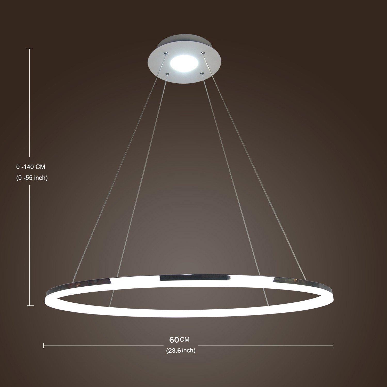 Moderno disegno semplice Mini dell'anello del LED Lampada a ...