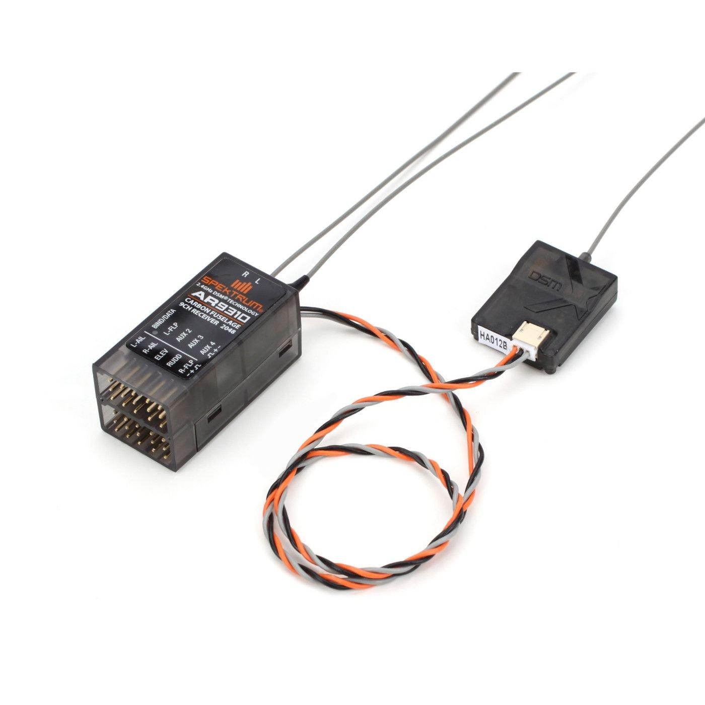 Spektrum SPMAR9310 parte de juguete - partes de juguetes DSM2 AIRMOD, Negro, 20,8 mm, 40,8 mm, 19,3 mm, 18,2 g