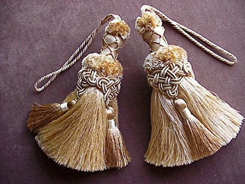 SET of TWO TASSELS ~ Exceptional Quality 6 1/2