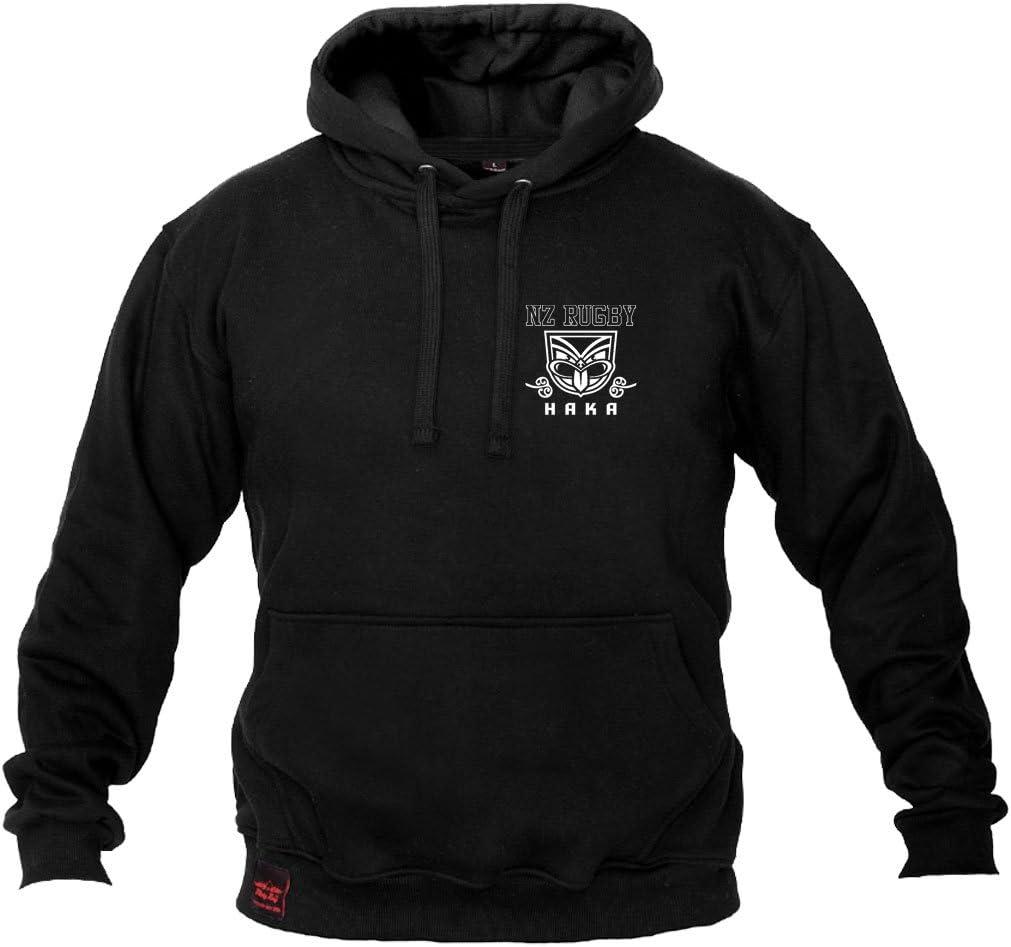 Dirty Ray Rugby New Zealand All Black sudadera hombre con capucha B2: Amazon.es: Deportes y aire libre