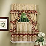 Achim Home Furnishings Sunflower Cottage Set, Antique