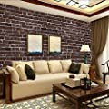 WPT Brick Stone Wallpaper Self Adhesive Roll Multi Brick Blocks Wall Pattern Home Room Decoration for Livingroom Bedroom