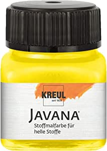 La luz de la Tela Javana 20ml de color Amarillo Fluorescente, CK 90928
