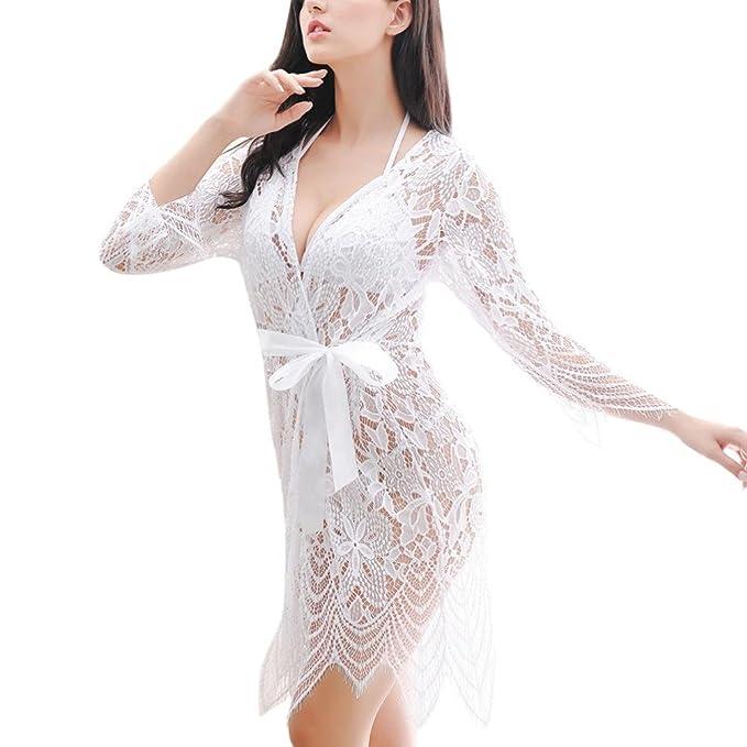 3 piezas lenceria erotica de mujer,Morwind ropa interior mujer sexy muy transparente lenceria encaje