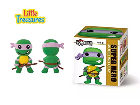Amazon.com: Tortuga Ninja Sculpting DIY play-set – Crea tus ...
