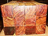 1 piece of cocobolo rosewood turning square 2'' x 2'' x 14'' long REAL ROSEWOOD!