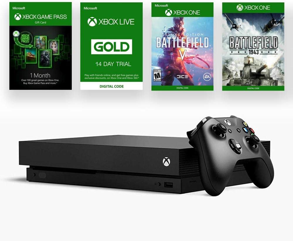 Microsoft Xbox One X 1TB Console - Battlefield V Bundle: Microsoft: Amazon.es: Electrónica