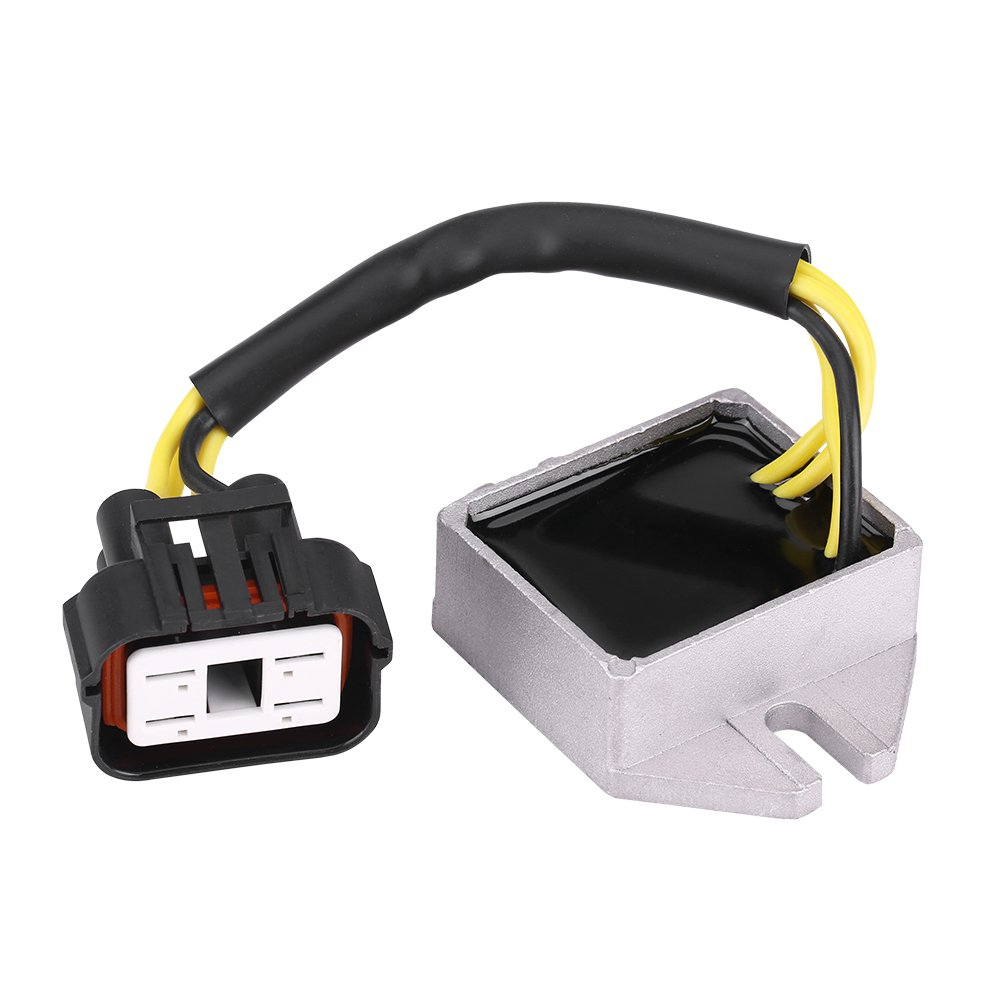 Qiilu Voltage Regulator Rectifier for Ski-Doo Formula MX Z MX ZX Summit 1999-2003 515175216 515175491