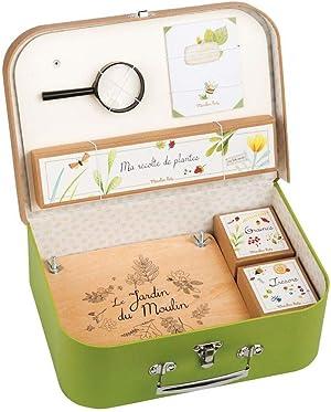 Moulin Roty Le Jardin - Botanist's Kit Carry Case (Valise Le Botaniste)