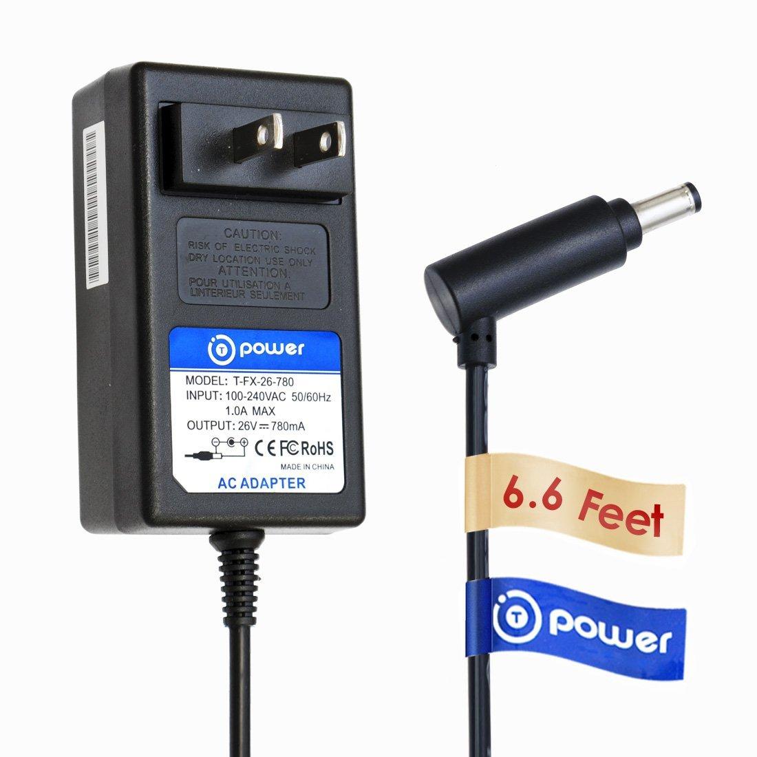 T POWER 26V Ac Dc Adapter Charger for Dyson V6 V7 V8 DC58, DC59, DC60, DC61, DC62, DC72 SV03 SV05 ERP SV06 Cord Free Handhelds Stick Vacuum Power Supply