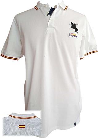 dicep Polo Liso Bandera España ala Vaquera Salto Garrocha: Amazon.es: Ropa y accesorios