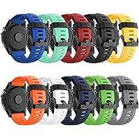 Supore Fenix 3/Fenix 5X/Fenix 6X sporthorloge armband siliconen sportarmband horloge armband reservearmband met…