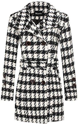 Houndstooth Coat Jacket - 2